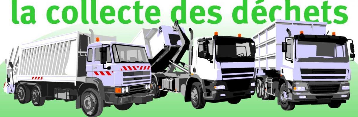 CUB dessin vectoriel collecte des déchets ménagers et industriels